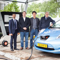 Fast and direct vehicle charging with solar energy