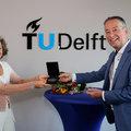 Karin Sluis is TU Delft Alumnus van het Jaar 2021