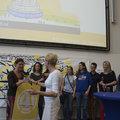 Award for Mathematics Service Teaching during opening of Teaching Lab