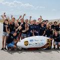 Studenten uit Delft en Amsterdam winnen fietswedstrijd in Amerika met nieuw Nederlands snelheidsrecord