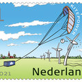 Kitepower is featured as one of ten TU Delft innovations on a new, limited sheet of  PostNL stamps