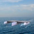 Het TU Delft Solar Boat Team presenteert ontwerp van de eerste Nederlandse zonneboot voor op open zee.
