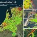Nieuwe bodemdalingskaart toont de (in)stabiliteit van Nederland