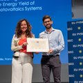 """Andres Calcabrini wins """"Best Student Award"""" in biggest PV conference in the world"""