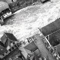 Wanneer bereikt het overstromingswater ons huis?