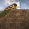 TU Delft, Deltares and ProRail to tackle rail subsidence in a structural way