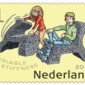 Variable Stiffness featured on PostNL and TU Delft innovation stamps