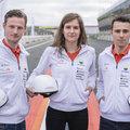 Nieuwe coureurs Vattenfall Solar Team racen op circuit Zandvoort tegen elkaar in zonne-auto