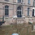 Ingestorte kade Grimburgwal levert lessen voor kadevernieuwingen Amsterdam