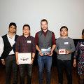 Baljinnyam Sereeter wins drone at PowerWeb's PhD poster contest 2018