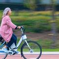 Slimme motor in stuur voorkomt vallen met fiets