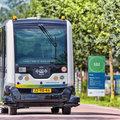 Autonoom voertuig WEpod gaat tijdelijk busdienst rijden