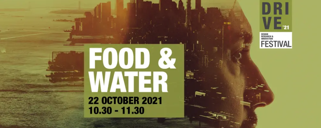 Promo banner for the Food & Water event on 22 October