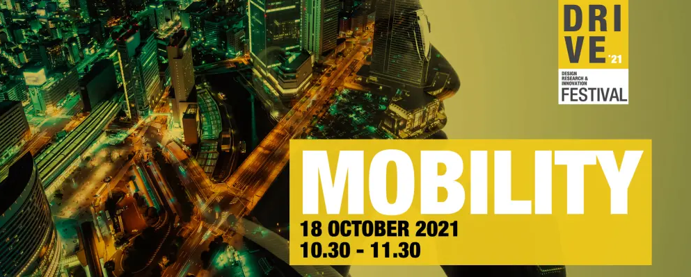 Mobility promo banner for event on 18 October