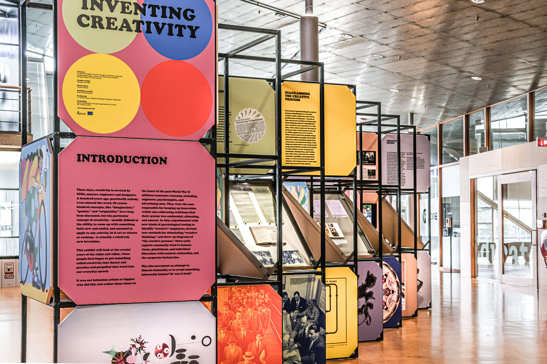 Inventing Creativity exhibition