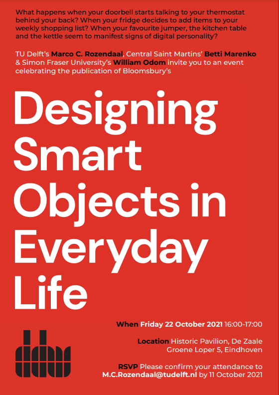 Designing Smart Objects in Everyday Life book by Marco Rozendaal