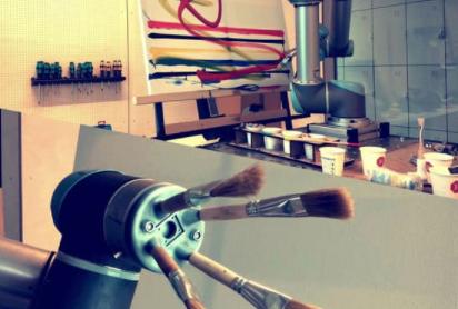 Bob Rob paint robot